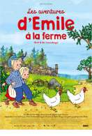 Affiche du film Les aventures d'Emile � la ferme
