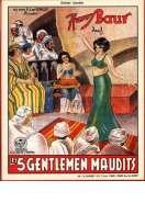 Affiche du film Les Cinq Gentlemen Maudits