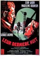 Affiche du film Leur Derniere Nuit