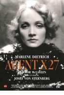 Affiche du film Agent X 27
