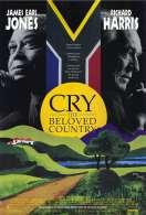 Affiche du film Pleure, � pays bien-aim�