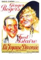 Affiche du film La joyeuse divorc�e