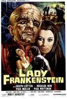 Affiche du film Lady Frankenstein, cette obs�d�e sexuelle