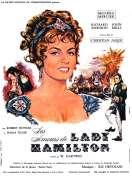 Affiche du film Les Amours de Lady Hamilton