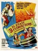 Affiche du film Il Etait Trois Flibustiers