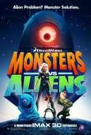 Affiche du film Monstres contre Aliens