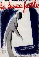 Affiche du film Le Sexe Faible