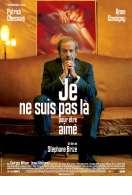Affiche du film Je Ne Suis Pas la Pour Etre Aime