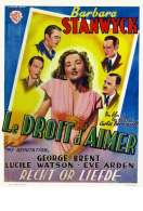 Affiche du film Le Droit d'aimer