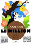Affiche du film Le million