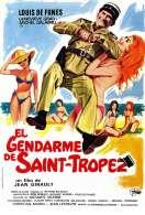 Affiche du film Le gendarme de Saint-Tropez