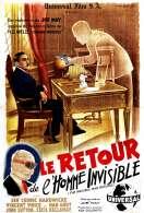 Affiche du film Le Retour de l'homme Invisible
