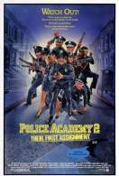 Affiche du film Police Academy 2