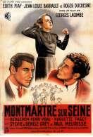 Affiche du film Montmartre Sur Seine