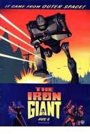 Affiche du film Le g�ant de fer