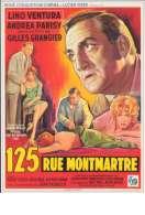 Affiche du film 125 rue Montmartre