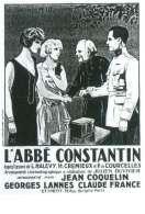 Affiche du film L'abbe Constantin