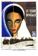 Affiche du film Le tigre du Bengale