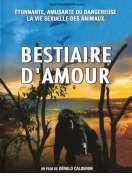 Affiche du film Le bestiaire d'amour