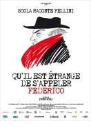 Affiche du film Qu'il est �trange de s'appeler Federico