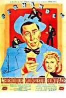 Affiche du film L'heroique Monsieur Boniface