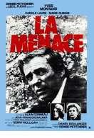 Affiche du film La menace