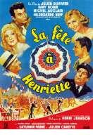 Affiche du film La f�te � Henriette