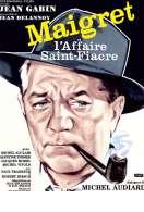 Affiche du film Maigret et l'affaire Saint-Fiacre