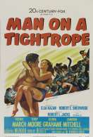 Affiche du film Man On a Tightrope