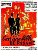 Affiche du film C'est Une Fille de Paname