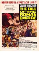 Affiche du film La chute de l'Empire romain