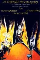 Le cabinet du Docteur Caligari, le film