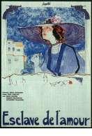 Affiche du film L'esclave de l'amour