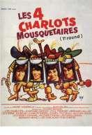 Affiche du film Les Quatre Charlots Mousquetaires