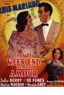 Affiche du film Pas de Week End Pour Notre Amour