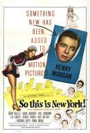 Affiche du film So This Is New York