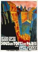 Affiche du film Sous les toits de Paris