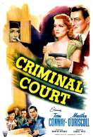 Criminal Court, le film