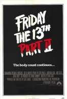 Affiche du film Vendredi 13 chapitre 2, le tueur du vendredi