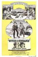 Affiche du film Les joyeux d�buts de Butch Cassidy et le Kid