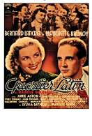 Affiche du film Quartier Latin