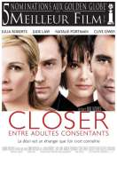 Affiche du film Closer, entre adultes consentants