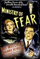 Affiche du film Le Minist�re de la peur