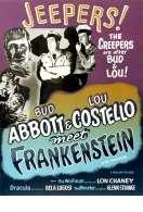 Affiche du film Deux Nigauds Contre Frankenstein