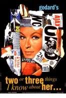 Affiche du film Deux ou trois choses que je sais d'elle