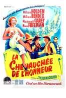 Affiche du film La Chevauchee de l'honneur