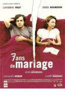 Affiche du film 7 ans de mariage