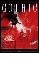 Affiche du film Gothic