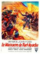 Affiche du film Le massacre de Fort Apache
