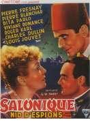 Affiche du film Salonique, nid d'espions